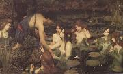 John William Waterhouse Hylas and the Nymphs (mk41) painting